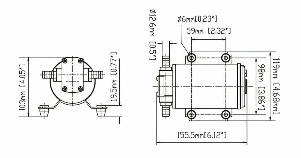 gear pump diagram